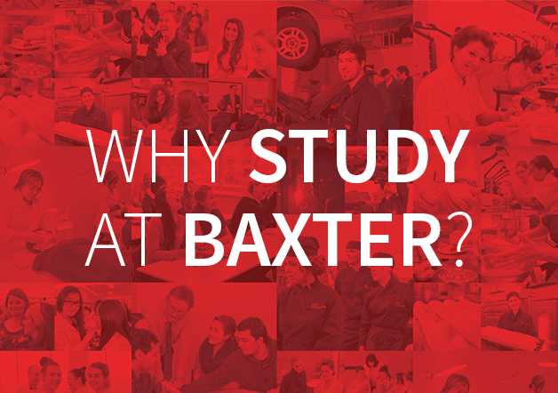 Why study at Baxter?